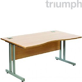 Triumph Everyday Essential Cantilever Double Wave Desks £147 - Office Desks