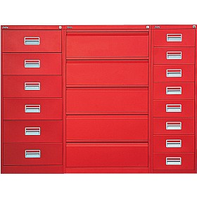 Silverline Media & Card Index Filing Cabinets £0 - Filing Cabinets