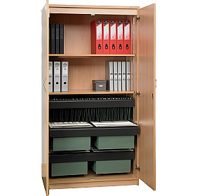 NEXT DAY Solar Contract System Cupboards £175 - Next Day Office Furniture