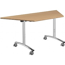 NEXT DAY Solar Trapezoidal Tilt Top Tables £285 - Next Day Office Furniture