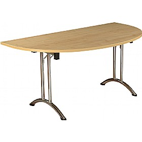 NEXT DAY Solar Semi Circular Folding Tables £203 - Next Day Office Furniture