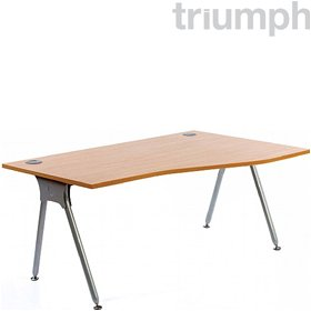 Triumph Everyday A-Frame Wave Desks £145 - Office Desks