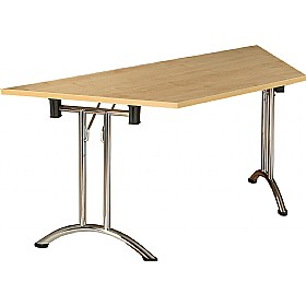 NEXT DAY Solar Trapezoidal Folding Tables £189 - Next Day Office Furniture