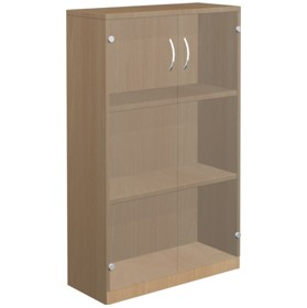 NEXT DAY Infinite 2 Shelf Unit - Combination 4 £232 - Office Cupboards