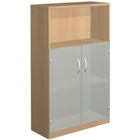NEXT DAY Infinite 2 Shelf Unit - Combination 5 £252 - Office Cupboards