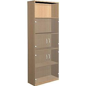 NEXT DAY Infinite 4 Shelf Unit - Combination 7 £372 - Office Cupboards