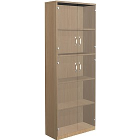 NEXT DAY Infinite 4 Shelf Unit - Combination 8 £395 - Office Cupboards