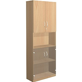 NEXT DAY Infinite 4 Shelf Unit - Combination 23 £363 - Office Cupboards