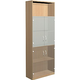 NEXT DAY Infinite 4 Shelf Unit - Combination 25 £389 - Office Cupboards