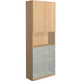 NEXT DAY Infinite 4 Shelf Unit - Combination 28 £380 - Office Cupboards