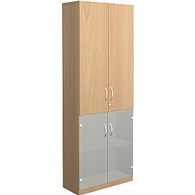 NEXT DAY Infinite 4 Shelf Unit - Combination 29 £369 - Office Cupboards