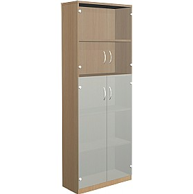 NEXT DAY Infinite 4 Shelf Unit - Combination 30 £387 - Office Cupboards