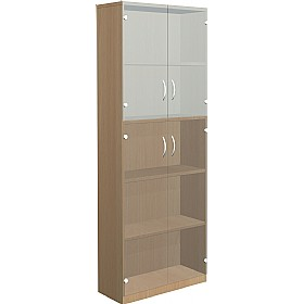 NEXT DAY Infinite 4 Shelf Unit - Combination 26 £413 - Office Cupboards