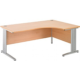 NEXT DAY Gravity Plus Ergonomic Cantilever Desk £260 - Next Day Office Furniture