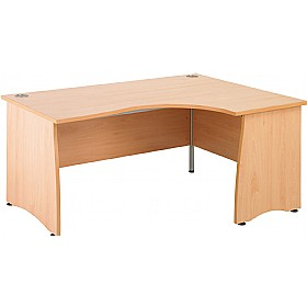 NEXT DAY Gravity Contract Panel End Ergonomic Desk £232 - Next Day Office Furniture