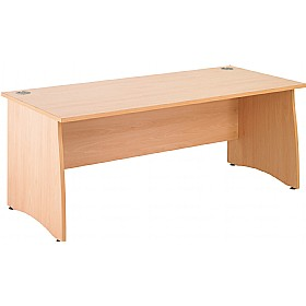 NEXT DAY Gravity Contract Panel End Rectangular Desk £133 - Next Day Office Furniture