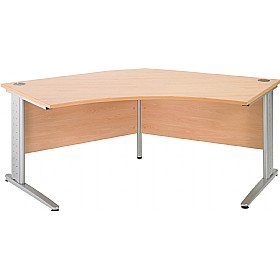 NEXT DAY Gravity Plus Delta Cantilever Desk £291 - Next Day Office Furniture