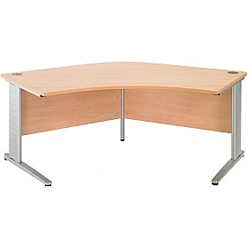 NEXT DAY Gravity Executive Delta Cantilever Desk £327 - Next Day Office Furniture