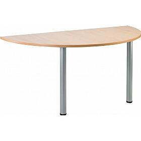 NEXT DAY Gravity Arc Meeting Table Round Legs £115 - Next Day Office Furniture