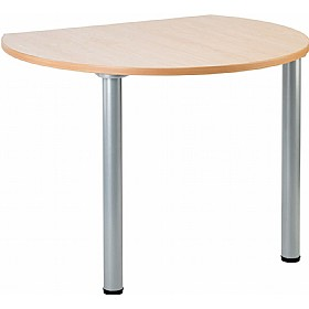 NEXT DAY Gravity Bubble Meeting Table Round Legs £106 - Next Day Office Furniture