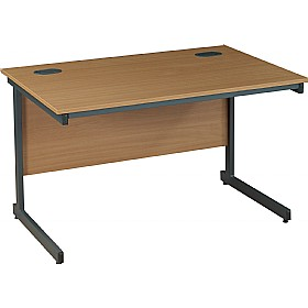 NEXT DAY Nova Plus Rectangular Cantilever Desks £110 - Next Day Office Furniture