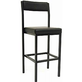 Gallery Sierra Vinyl Stools With Back £79 - Office Chairs