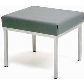 Low Rectangular Gallery Lexaire Vinyl Stools £49 - Office Chairs