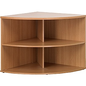 Solar Plus Desk High Corner Bookcases £174 - Office Desks