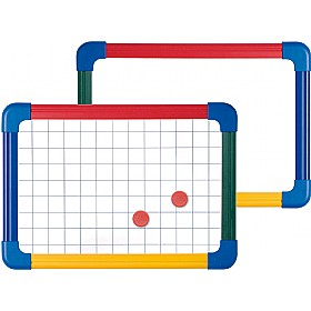 Double Sided Student Whiteboard Plain/Gridded (Pack of 5 or 10) £44 - Display/Presentation