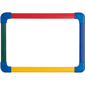 Double Sided Student Whiteboard Non Magnetic Pack Of 5 Or