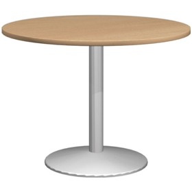 Solar Deluxe Round Meeting Tables £301 - Office Desks