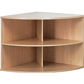 NEXT DAY Solar Contract Corner Bookcases £158 - Next Day Office Furniture