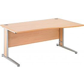Gravity Deluxe Wave Cantilever Desk £190 - Office Desks