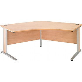 Gravity Deluxe Delta Cantilever Desk £281 - Office Desks