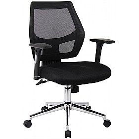Cuba Mesh Back Managers Chair £150 - Office Chairs