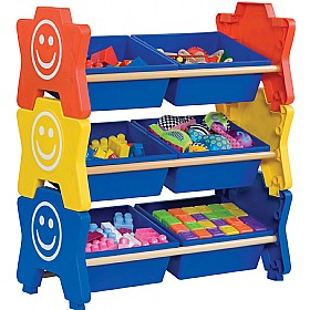 HappyStack® Treble Storage Units £0 - Education Furniture