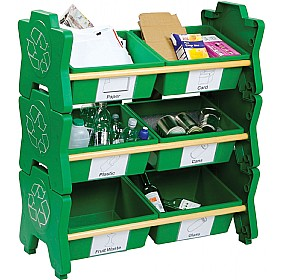 HappyStack® Eco Recycling Storage Unit £0 - Education Furniture