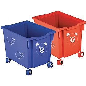 ToyTidy® Mobile Tray Storage With Bear Castors £0 - Education Furniture