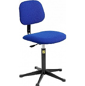 Static Dissipative Fabric Chair With Glides £129 - Office Chairs