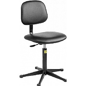 Static Dissipative Vinyl Chair With Glides £117 - Office Chairs