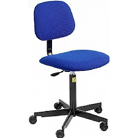 Static Dissipative Fabric Chair With Castors £154 - Office Chairs