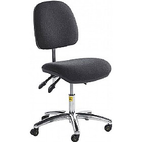 Static Dissipative Ergonomic Operator Chair £237 - Office Chairs