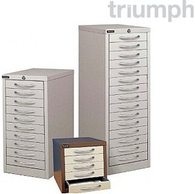 Triumph Multi Drawer Cabinets £0 - Filing Cabinets