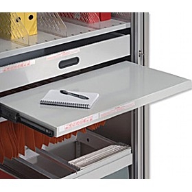 NEXT DAY Bisley Roll Out Shelf £78 - Next Day Office Furniture