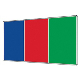 Shield Aluminium Frame Multibank Noticeboard £86 - Display/Presentation