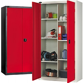 8 Compartment Commercial Cupboards £301 - Office Cupboards