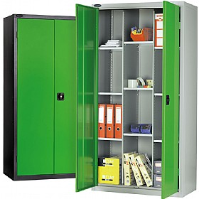 12 Compartment Commercial Cupboards £350 - Office Cupboards