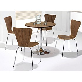 Pablo Walnut Bistro Bundle £448 - Bistro Furniture