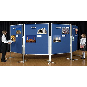 Multiboard Mobile Exhibition Display & Presentation System