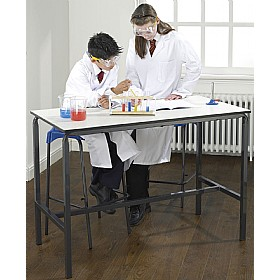 Crush Bent H-Frame Science Lab Table £99 - Education Furniture